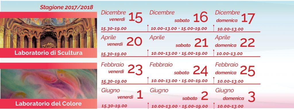 Colore Scultura Henk Jan Meijer calendario 2017-18