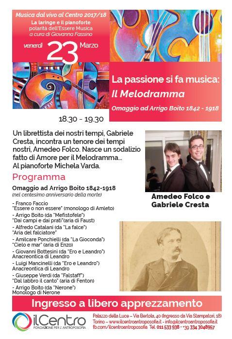Giovanna Fassino melodramma 23-3-2018