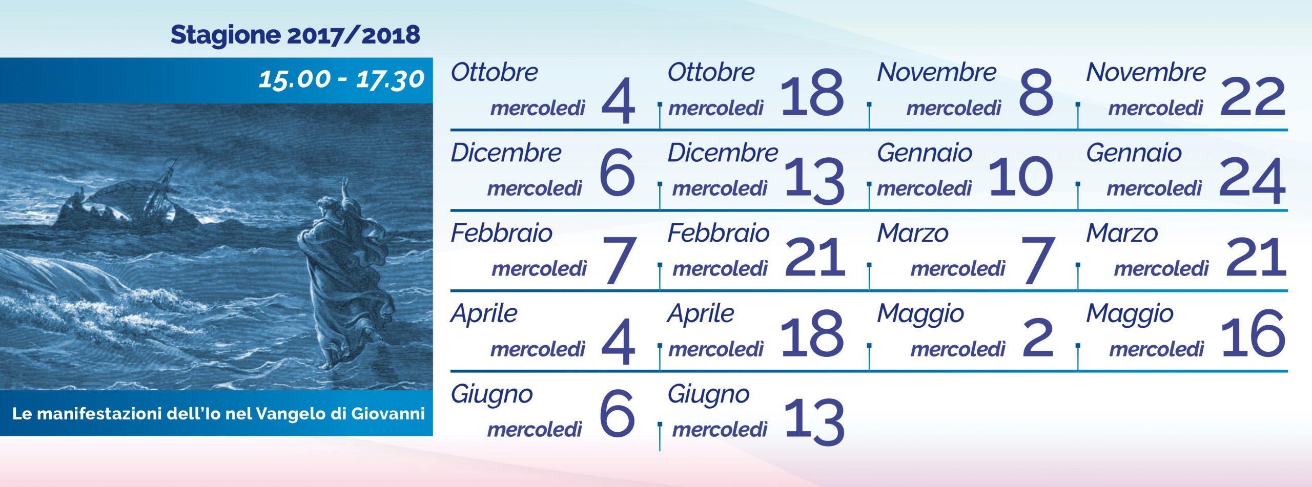 elena-ferrario_Vangelo di Giovanni calendario 2017-2018
