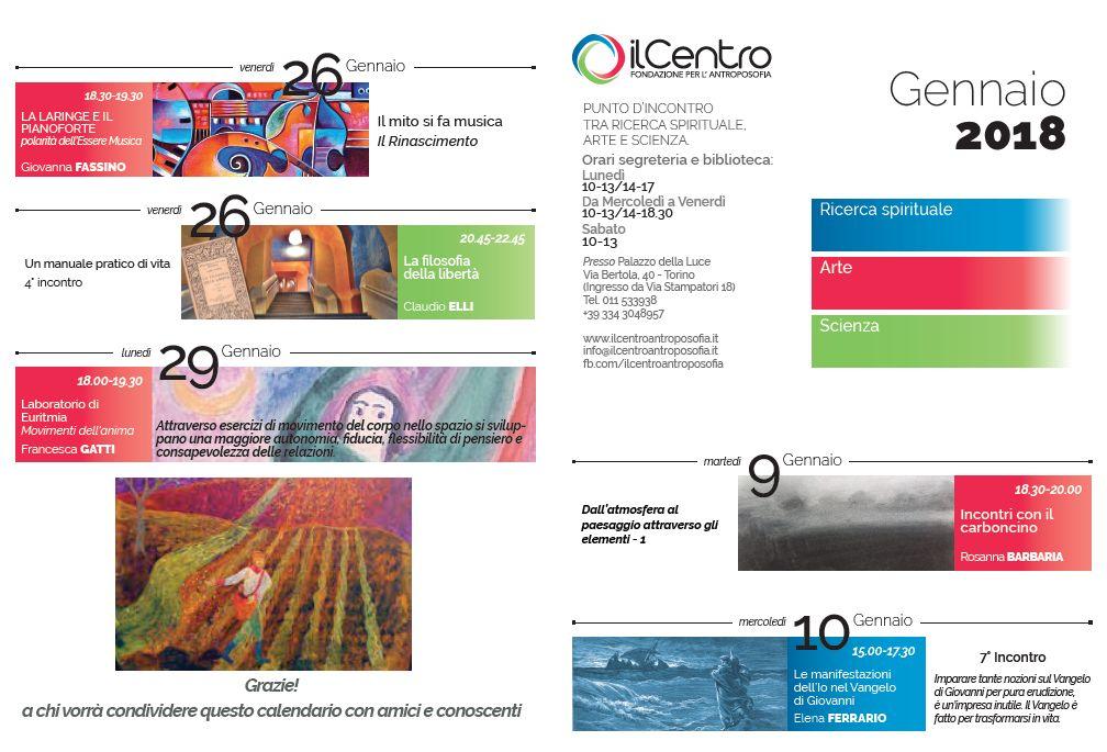 calendario mensile gennaio 2017-18