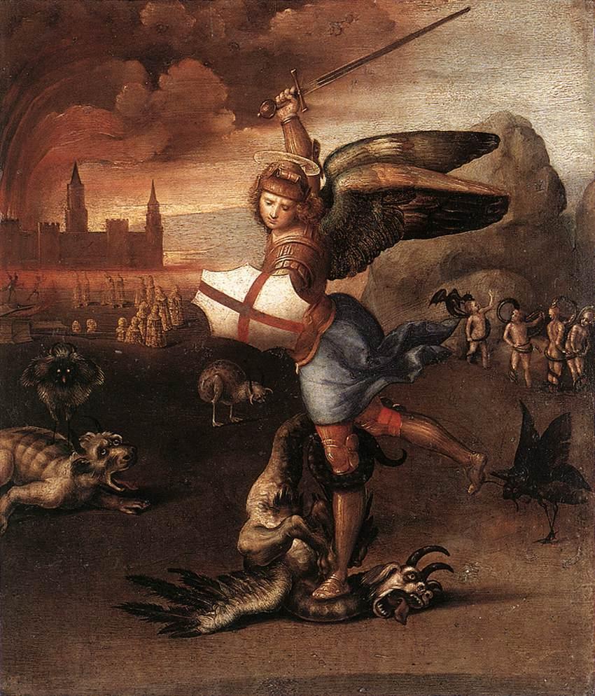 San Michele e il Drago