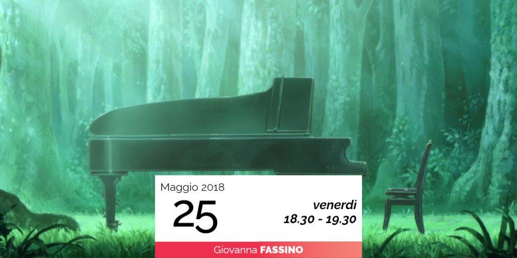 Giovanna Fassino Il pianoforte e gli elementi: la terra 25 maggio 2018