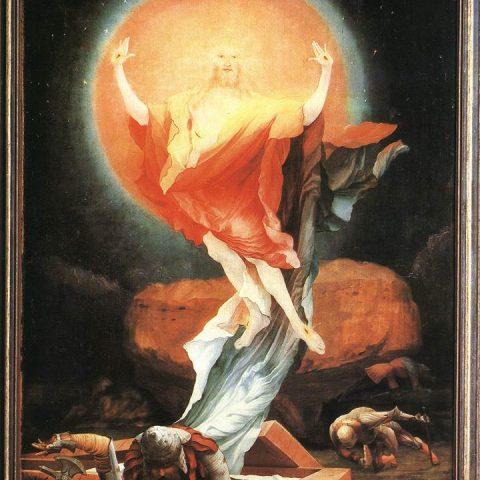 Matthias-Grünewald-Dittico-della-Annunciazione-e-Resurrezione-di-Cristo-1515-circa-Musée-dUnterlinden-Colmar