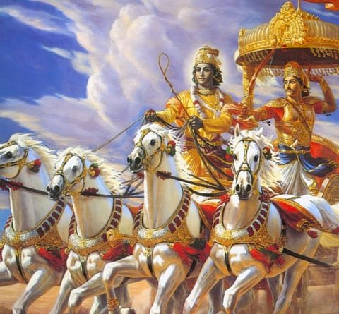 Bhagavad Gita, Il Carro di Arjuna