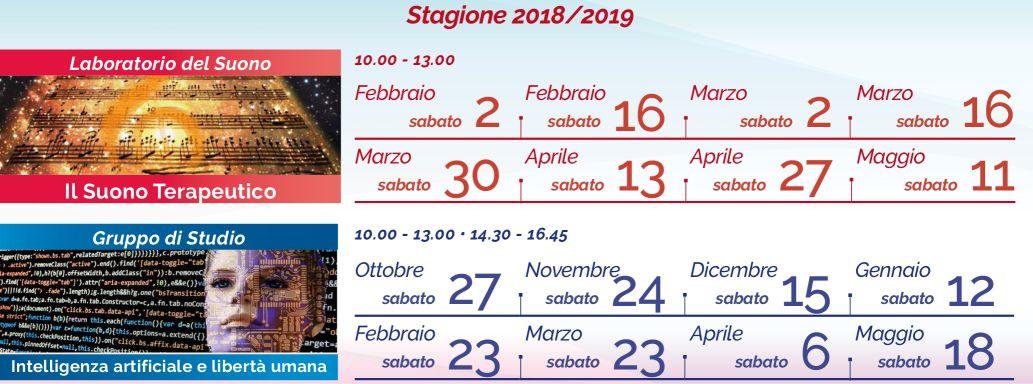 Il Calendario 2018-2019 di Sergio Motolese