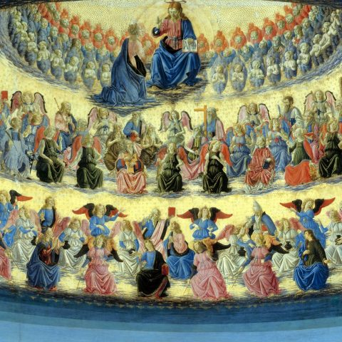 Coro di angeli - Francesco Botticini