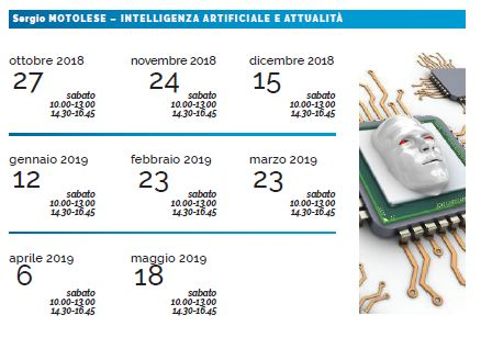 Sergio Motolese Tecnologia e attualità - calendario