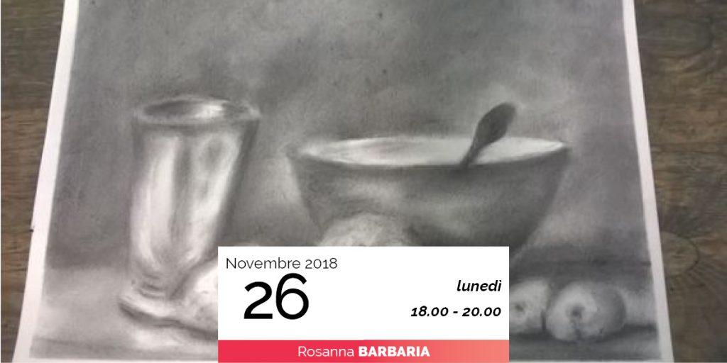 Rosanna Barbaria disegno dal vero 26-11-2018