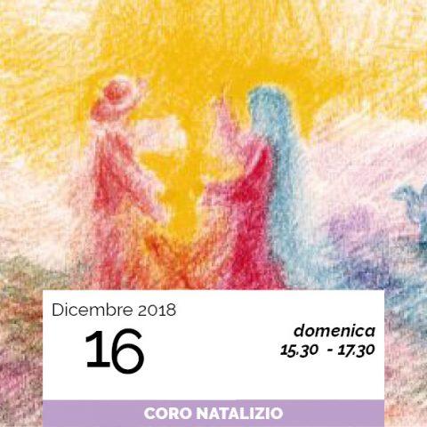 coro di natale data 16-12-2018