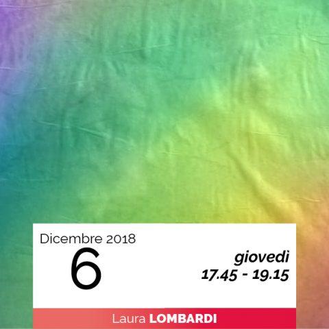 LABORATORIO DI PITTURA a cura di Laura Lombardi 6-12-2018