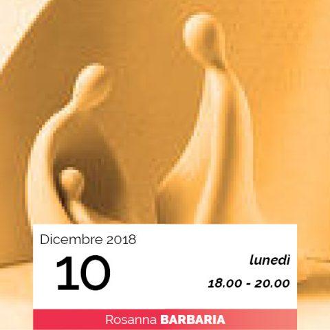 Rosanna Barbaria modellaggio sacra famiglia data 10-12-2018