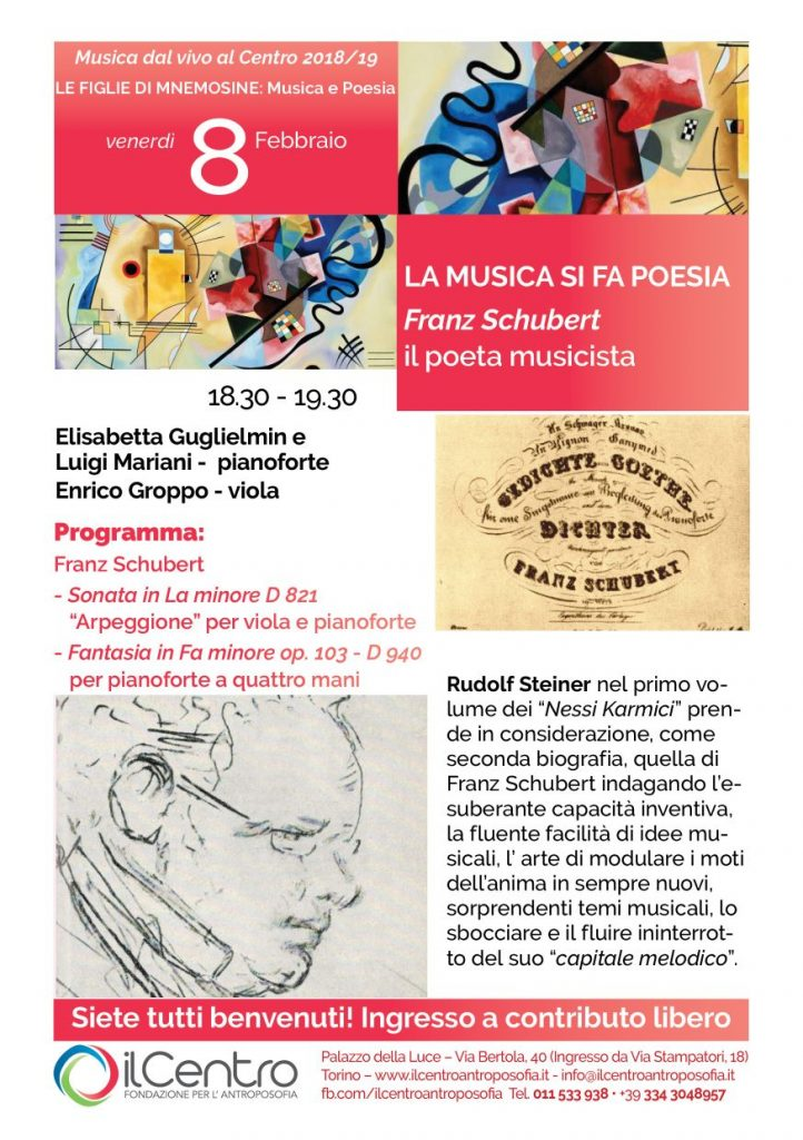 Giovanna Fassino musica poesia locandina 8-2-2019