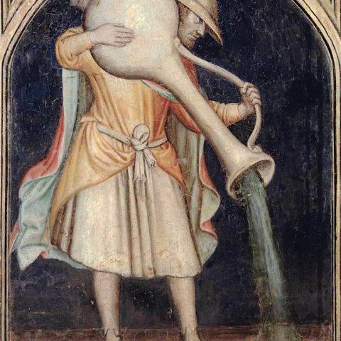Acquario. Affresco sulla parete orientale del Palazzo della Ragione, Padova