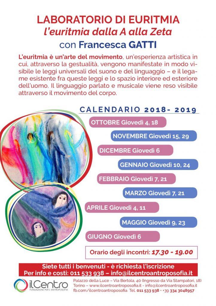 Francesca Gatti Laboratorio Euritmia locandina