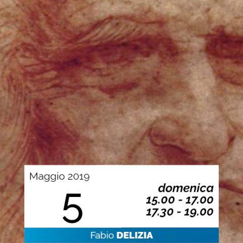 Fabio Delizia Leonardo Cenacolo pensare data 5-5-2019