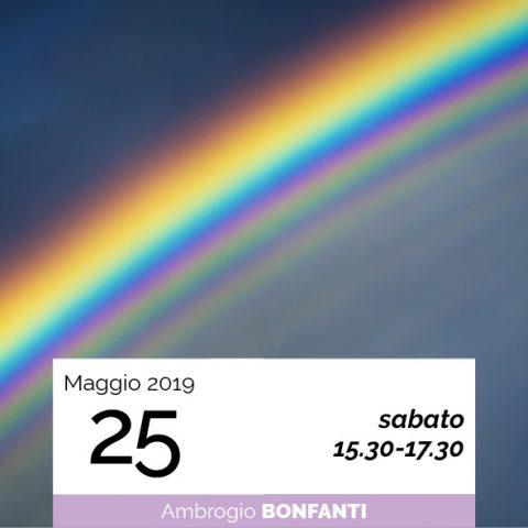 Ambrogio Bonfanti Viaggio nel colore data 25-5-2019