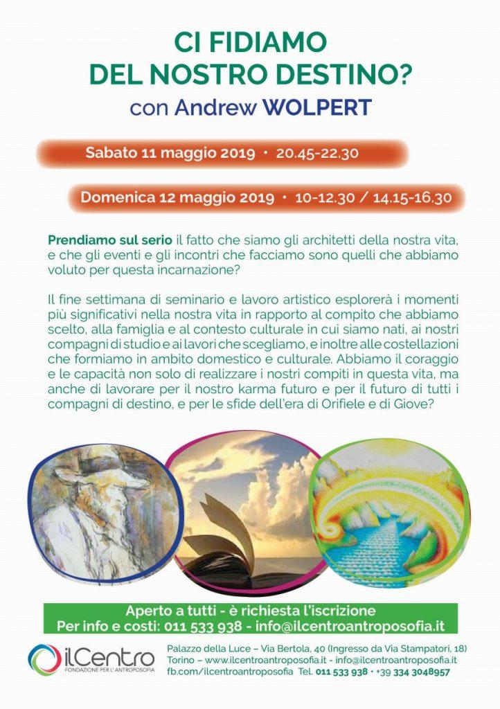 Andrew Wolpert Destino locandina