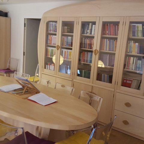 La biblioteca de Iol Centro per l'Antroposofia di Torino