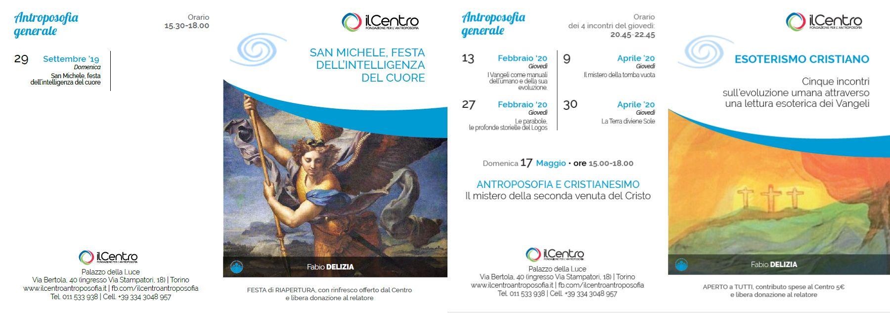 Calendario Fabio Delizia 2019-2020