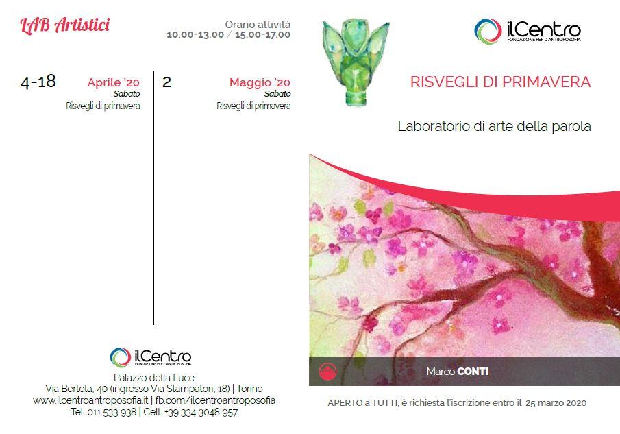 Calendario Marco Conti 2019-2020