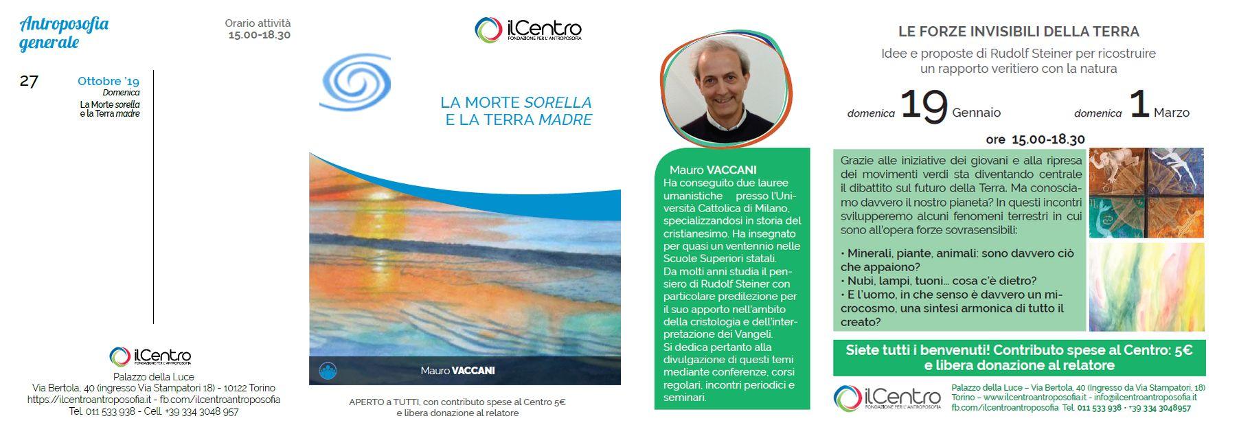 Calendario Mauro Vaccani 2019-2020