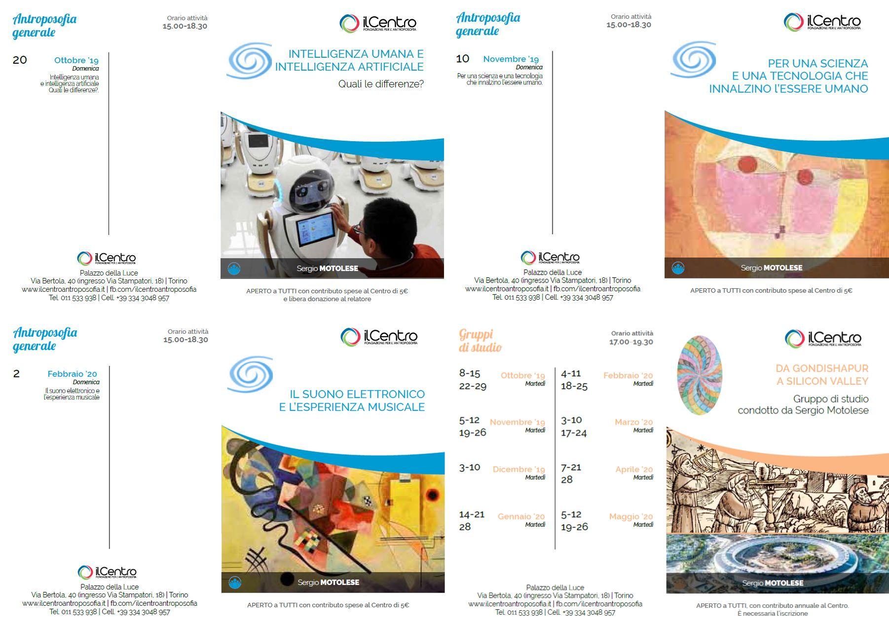 Calendario Sergio Motolese 2019-2020