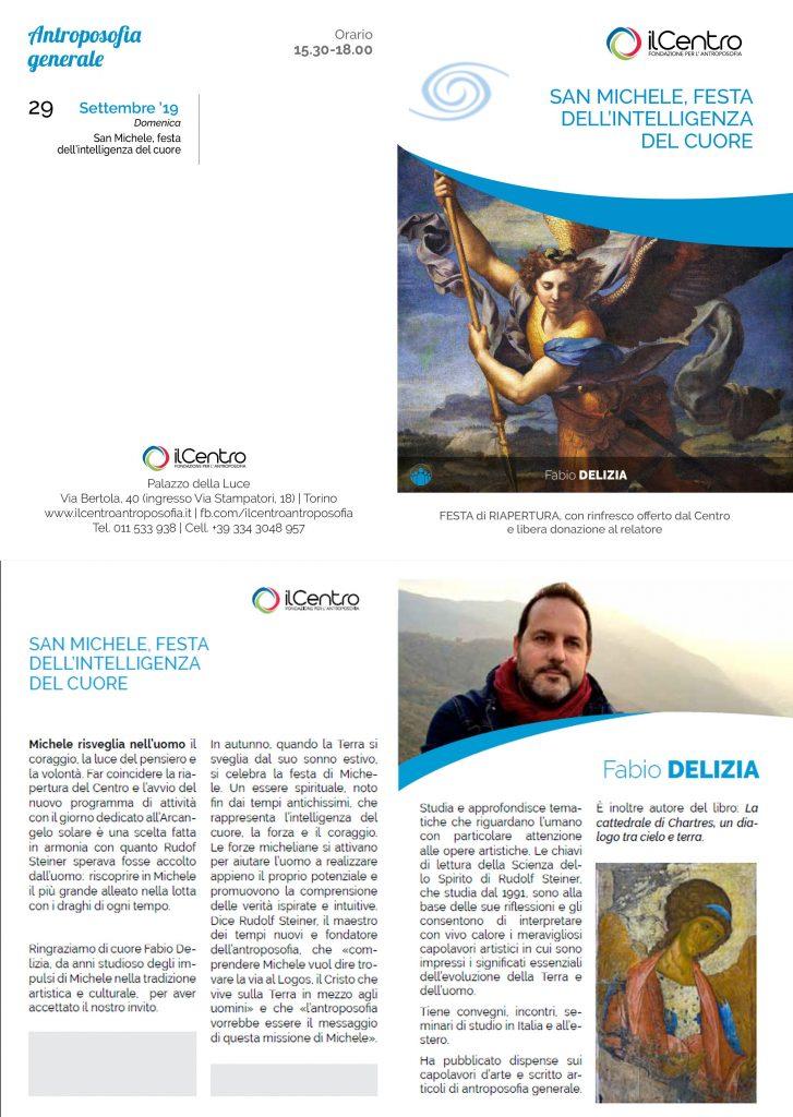 Fabio Delizia San Michele 29-9-2019 locandina