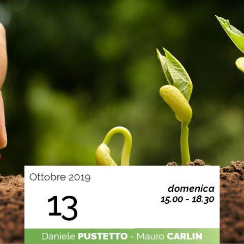 Carlin Pustetto relazione uomo e terra 13-10-2019