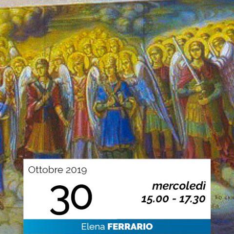 Elena Ferrario Gerarchie spirituali 30-10-2019