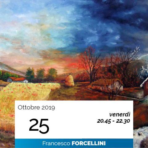Francesco Forcellini le 4 immaginazioni cosmiche 25-10-2019