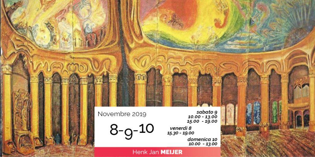Henk Meijer modellaggio capitelli Goethenaum 2019-11-08