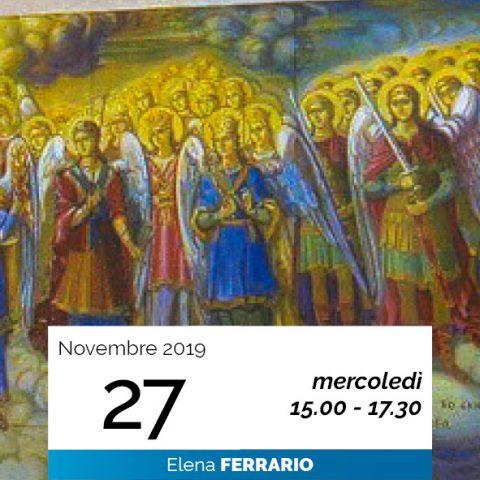 Elena Ferrario Gerarchie spirituali 27-11-2019