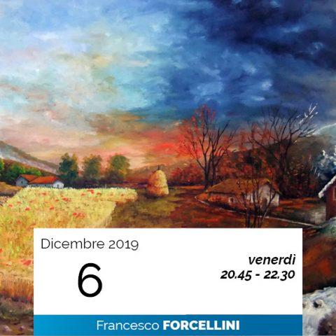 Francesco Forcellini le 4 immaginazioni cosmiche 6-12-2019