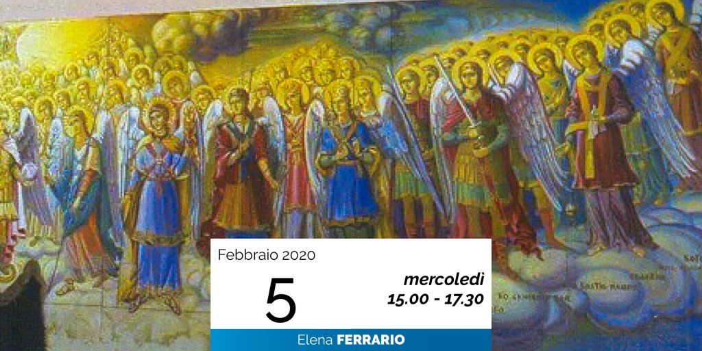 Elena Ferrario Gerarchie spirituali 5-2-2020