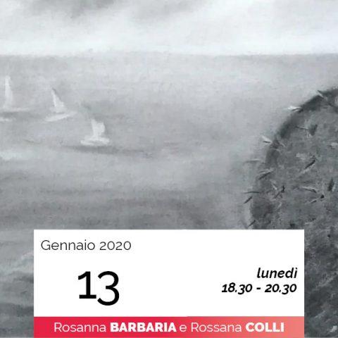 Rosanna Barbaria laboratorio carboncino 13-1-2020