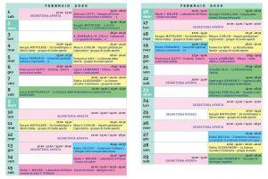 Calendario Il Centro Antroposofia 2019-2020 febbraio 2020