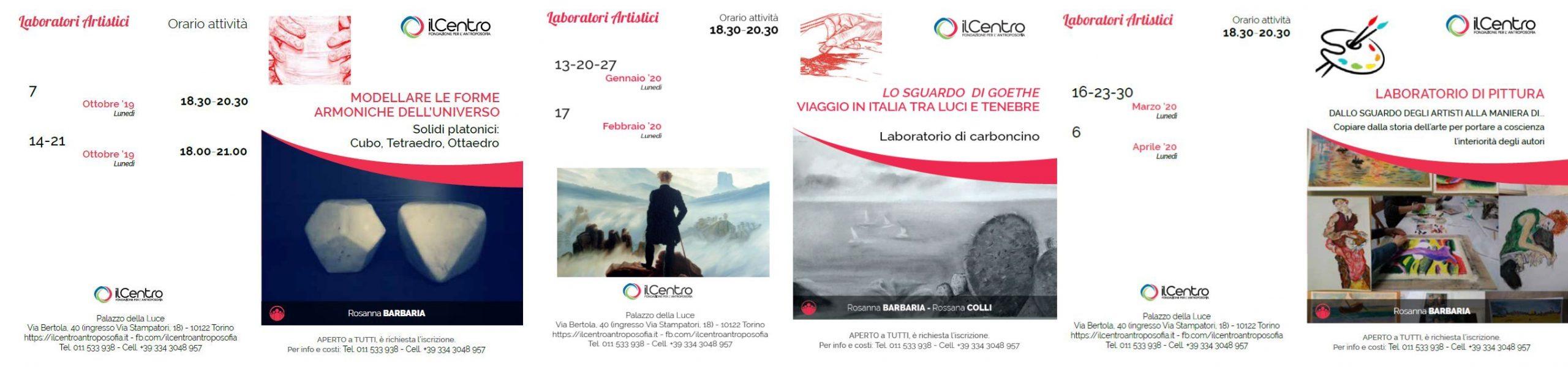 Calendario Rosanna Barbaria 2019-2020