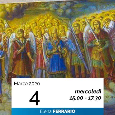Elena Ferrario Gerarchie spirituali 4-3-2020