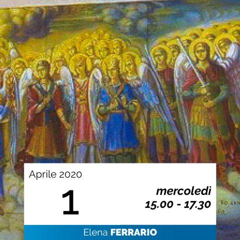 Elena Ferrario Gerarchie spirituali 1-4-2020