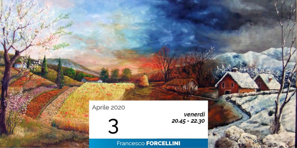 Francesco Forcellini le 4 immaginazioni cosmiche 3-4-2020