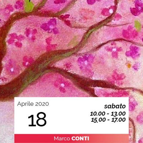 Marco Conti arte della parola risvegli di primavera 18-4-2020