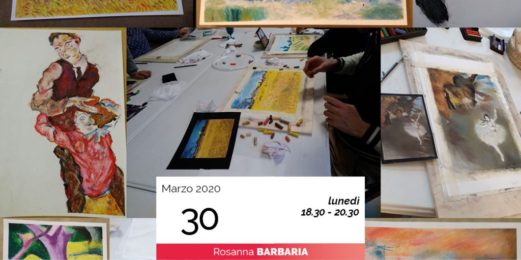 Rosanna Barbaria copie d'autore pittura 30-3-2020