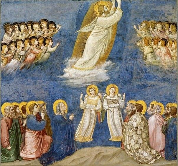 Giotto, Ascensione - 1303 ca. Cappella degli Scrovegni, Padova