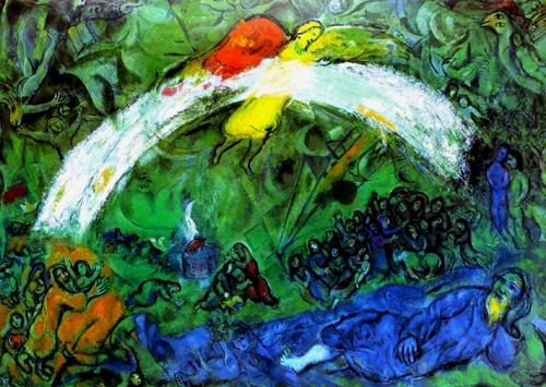 Marc Chagall, Noè e l'arcobaleno