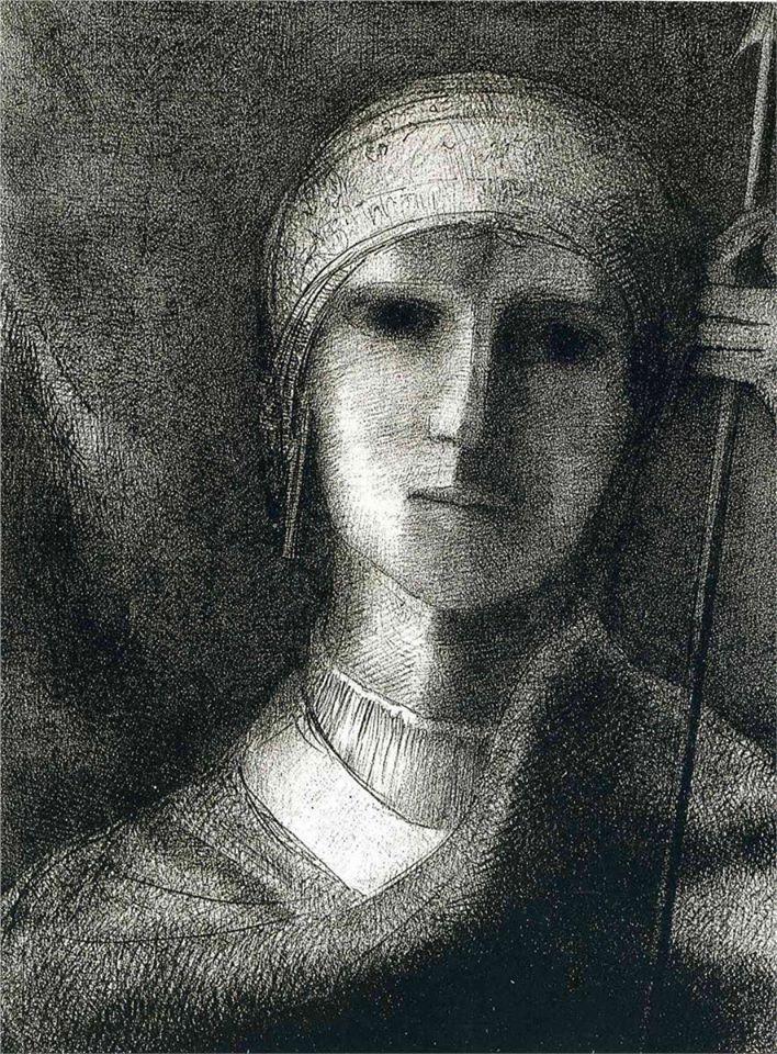 Odilon Redon - Parsifal 1891