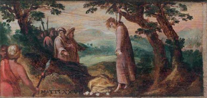 Il suicidio di Giuda – Andrea Schiavone 1550 ca.