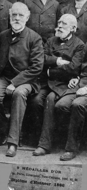 Antoine Pierre Jacques Béchamp e Louis Pasteur