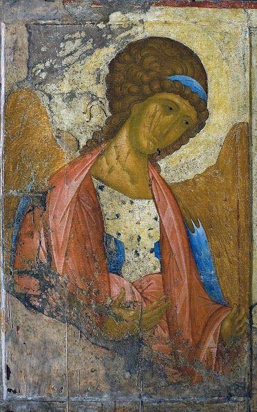 Andrej Rublëv Michele Arcangelo icona 1414 ca.