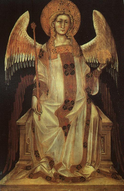 Angelo, Guariento di Arpo (1310–1370) Musei civici di Padova