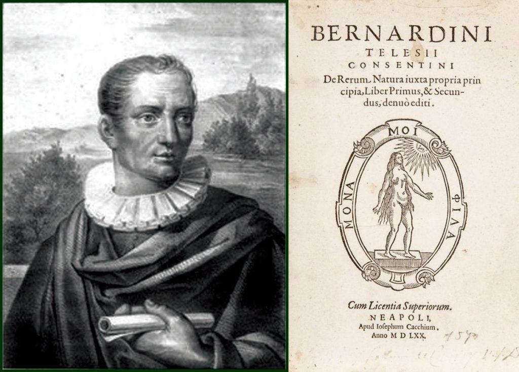 Bernardino Telesio,De Rerum natura justa propria principia
